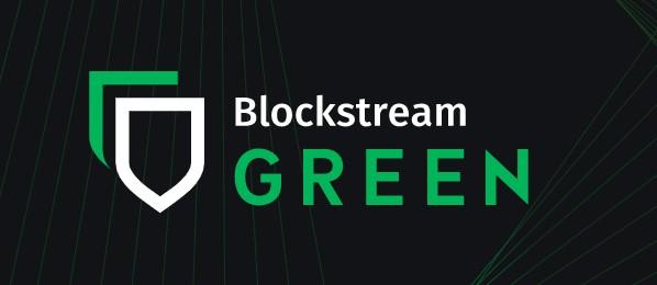 Logo Blockstream Green