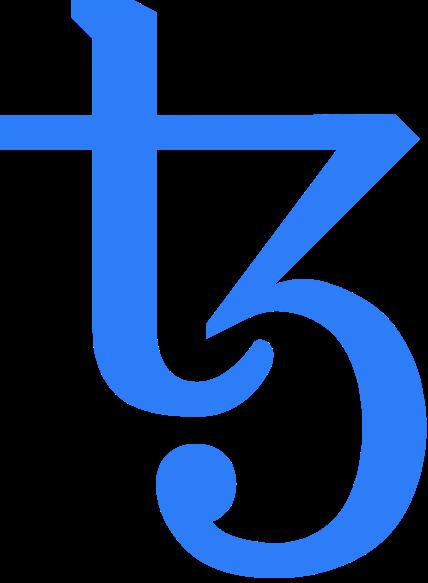 Logo Tezos - Crypto prometteuse 2021