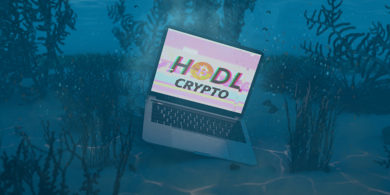 Investir crypto signification HODL